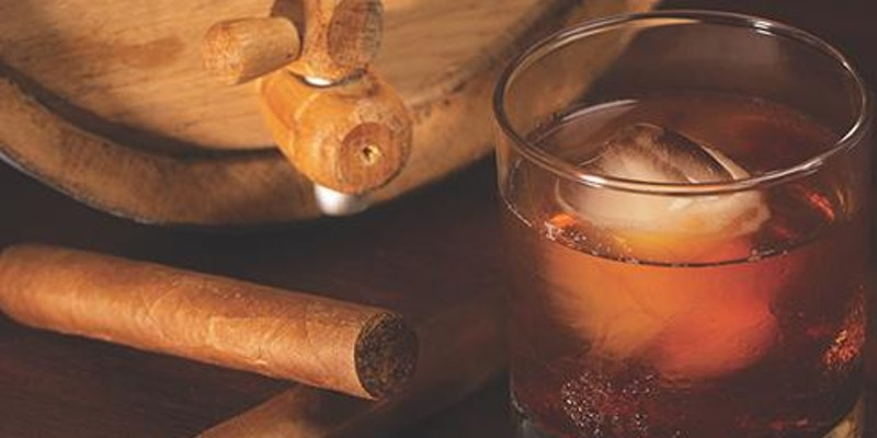 Bourbons-Food-Cigars and Fire